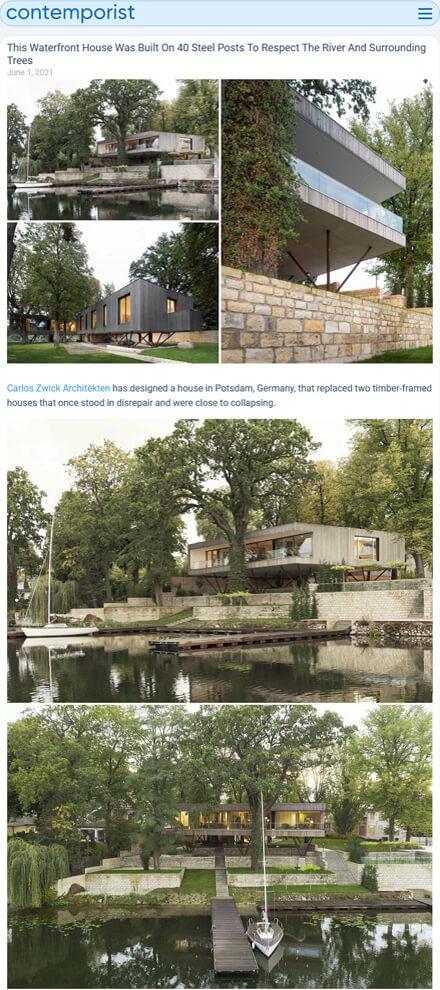 Haus am See in Contemporist